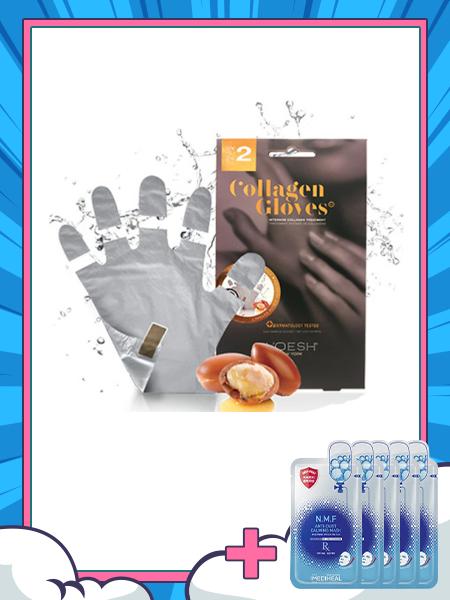 SET - Mặt Nạ Tay VOESH Collagen Gloves (BRAND đến từ Mỹ)