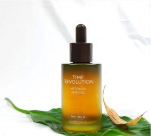 Tinh chất trị mụn, dưỡng da Missha Time Revolution Artemisia Ampoule
