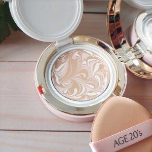 Phấn nền lạnh kim cương AGE20's với nghệ thuật Latte Art