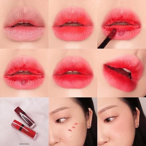 Cách phối màu son môi đẹp