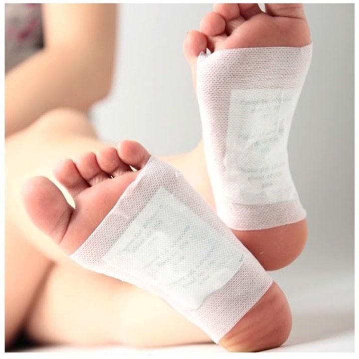 miếng thải độc chân cho một cơ thể khỏe mạnh