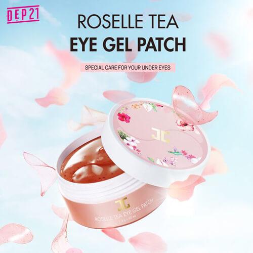 Mặt Nạ Mắt JayJun Roselle Tea Eye Gel Patch
