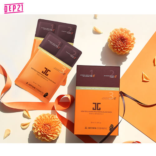 Mặt Nạ Giấy Real Water Brightening Black Mask