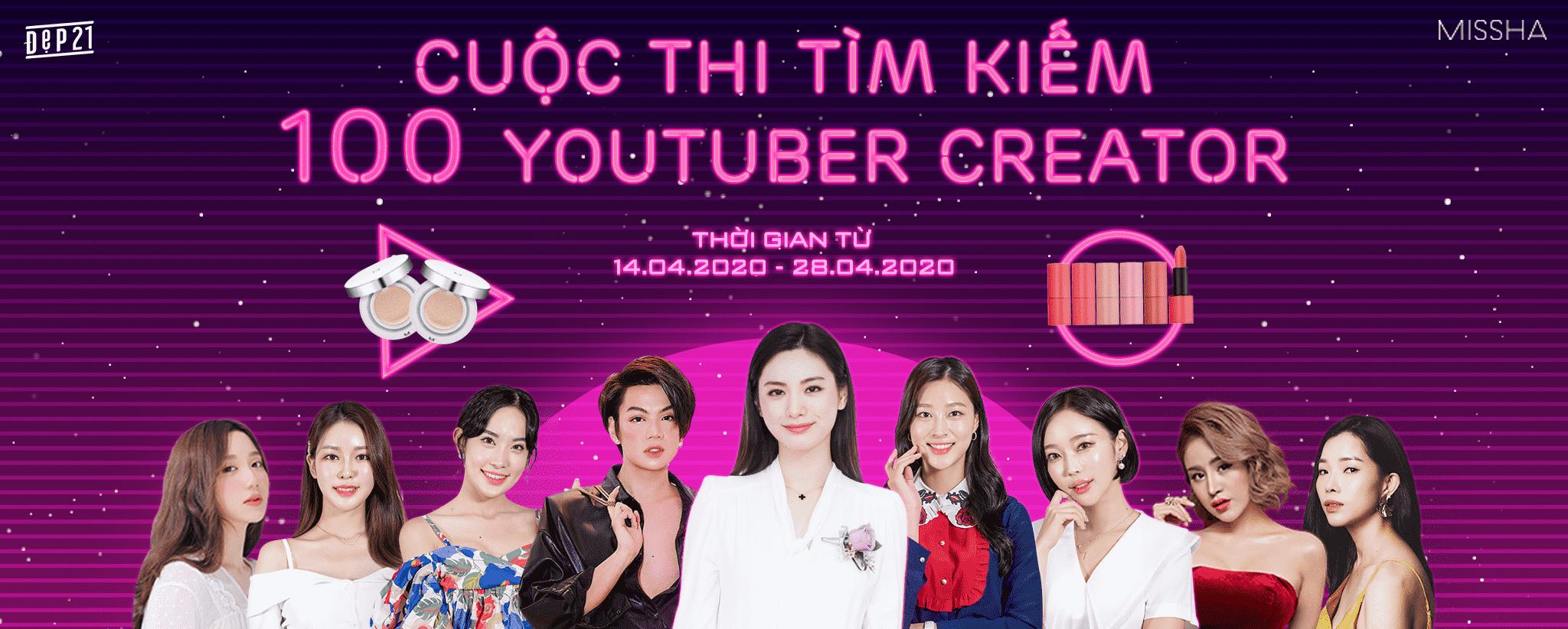 Cuộc Thi Tìm Youtuber Tài Năng Cho Brand Missha