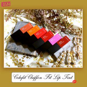 Review Celefit Chiffon Fit Lip Tint