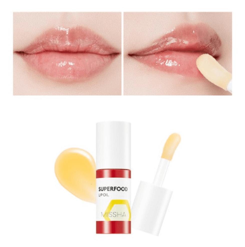 son-duong-moi-missha-superfood-honey-lip-oil