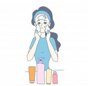 Tẩy trang hàng ngày để chăm sóc da nhạy cảm