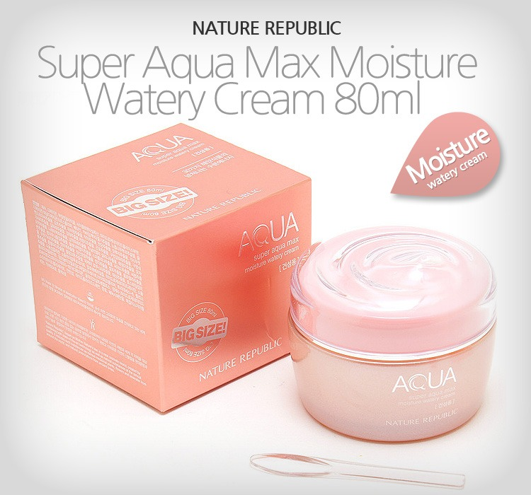 Kem Dưỡng Da Nature Republic Super Aqua Max Moisture Watery Cream - 2