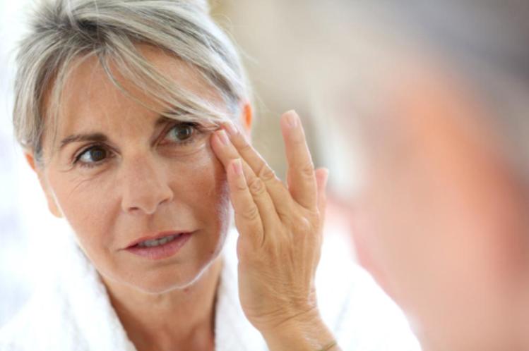 Các dấu hiệu lão hóa da quanh mắt