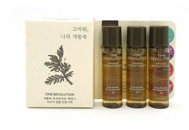 Set 3 Lọ Mini Missha Time Revolution Artemisia Treatment Essence