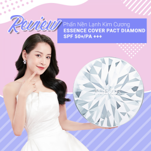 Review Phấn Nền Lạnh Kim Cương Age20's Essence Cover Pact Diamond SPF 50+/PA +++
