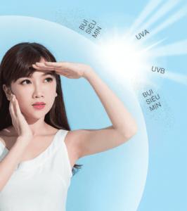 Chống nắng giúp bảo vệ da