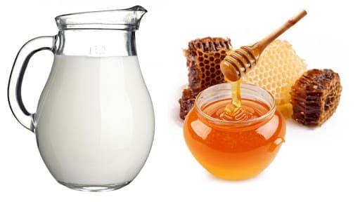 Dưỡng ẩm da vào mùa đông từ mật ong và sữa tươi