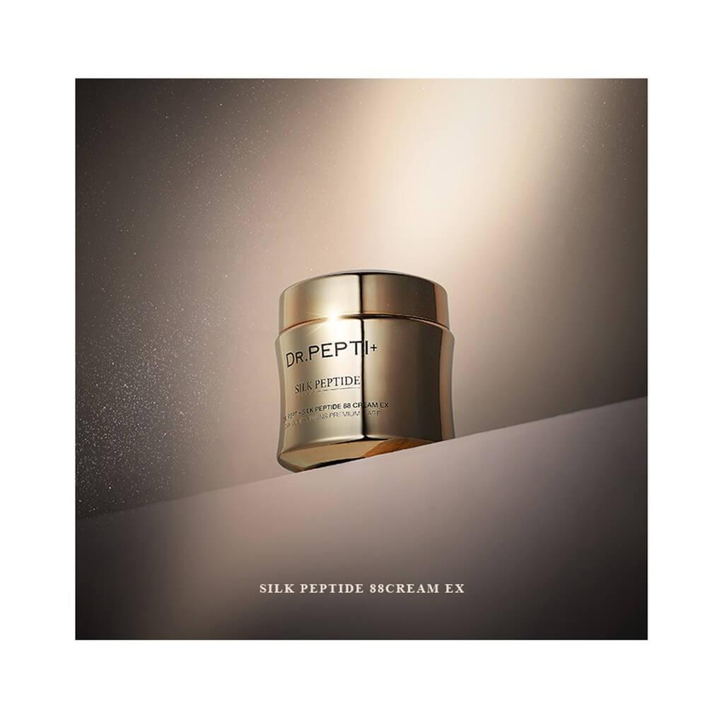 Kem Dưỡng Da Mặt Dr.pepti+ silk Peptide 88 Cream Ex 12g