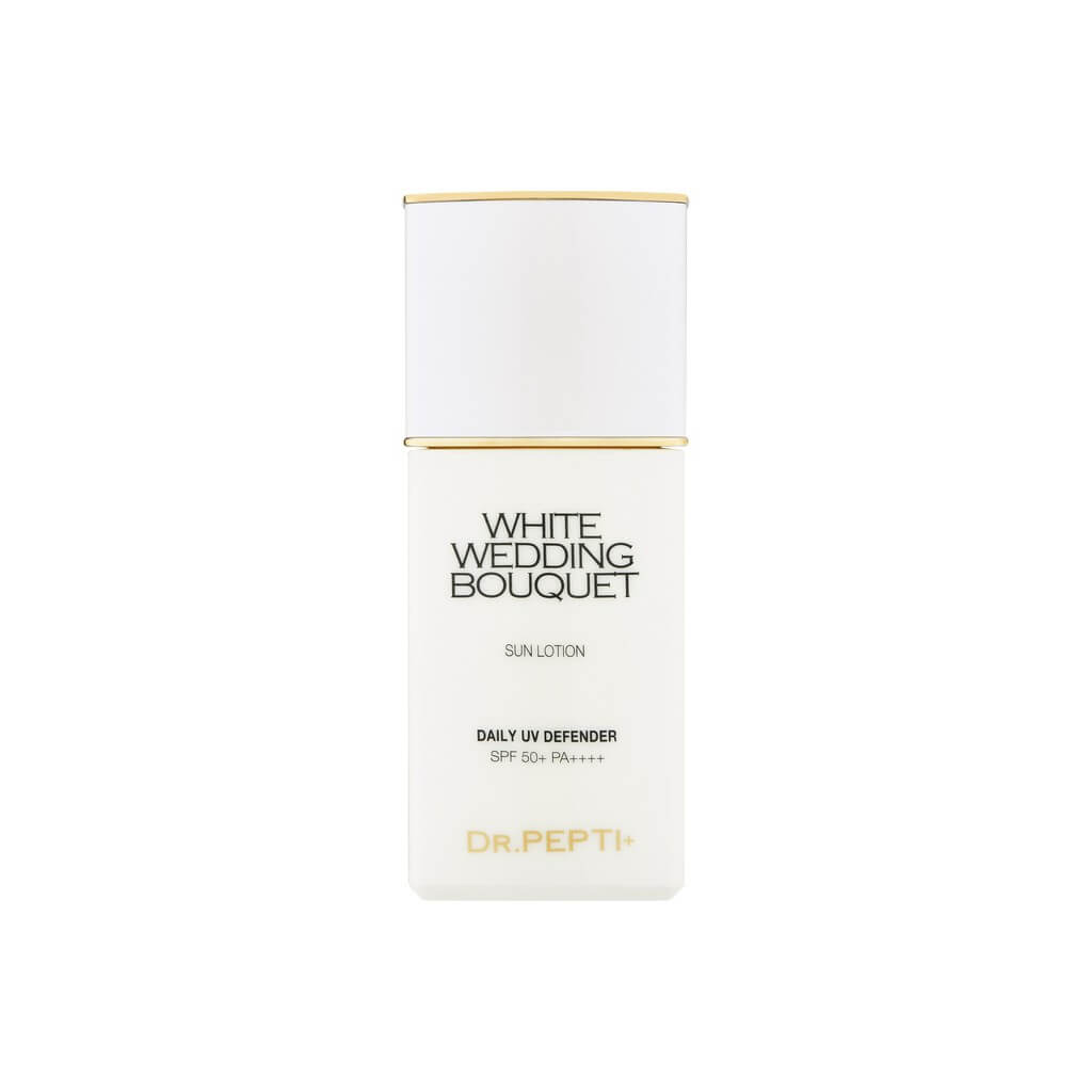 Kem Chống Nắng Dr.pepti+ White Wedding Bouquet Sun Lotion Daily UV Defender SPF50+ PA+++ 50ml