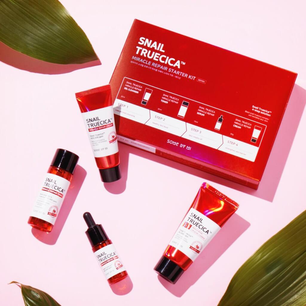 Bộ Some By Mi Snail Truecica Miracle Repair Starter Kit Edition