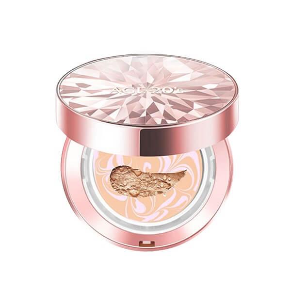 Phấn nền lạnh kim cương AGE 20's Essence Cover Pact Original Pink
