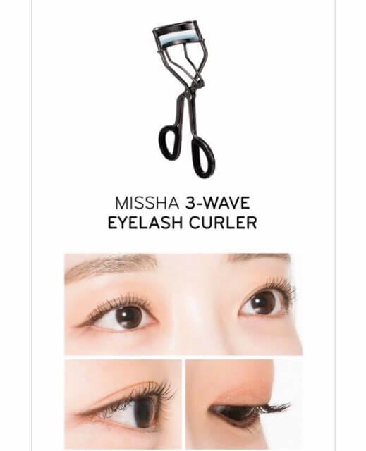 Kẹp Mi Missha 3 Wave Eyelash Curler
