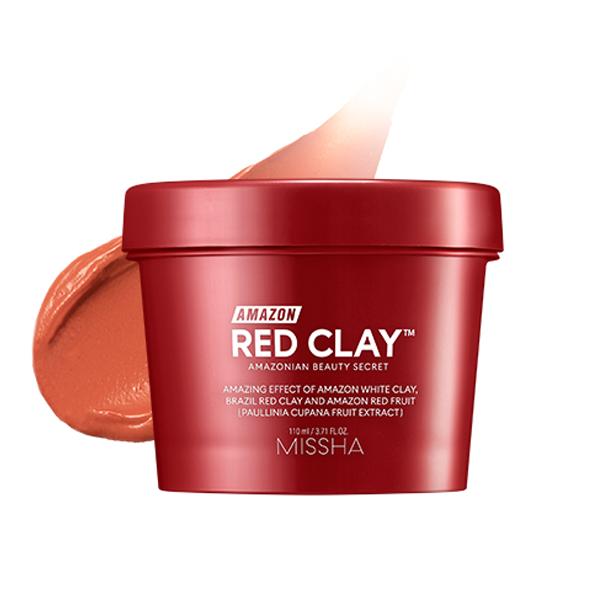 Mặt Nạ Đất Sét Làm Sạch Sâu Missha Amazon Red Clay Pore Mask