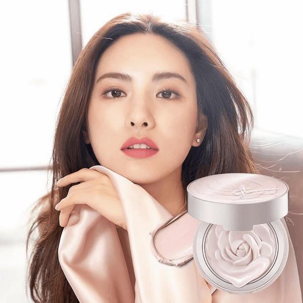 Phấn Nén Hoa Hồng Missha Glow Tone Up Rose Pact SPF50+/PA++++ 11g