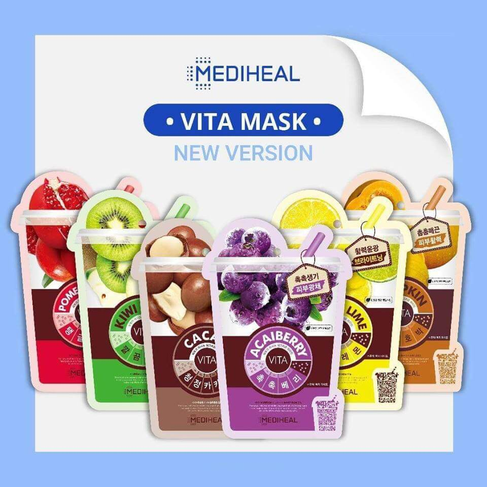 Mặt Nạ chiết xuất từ hoa quả Mediheal Vita Mask