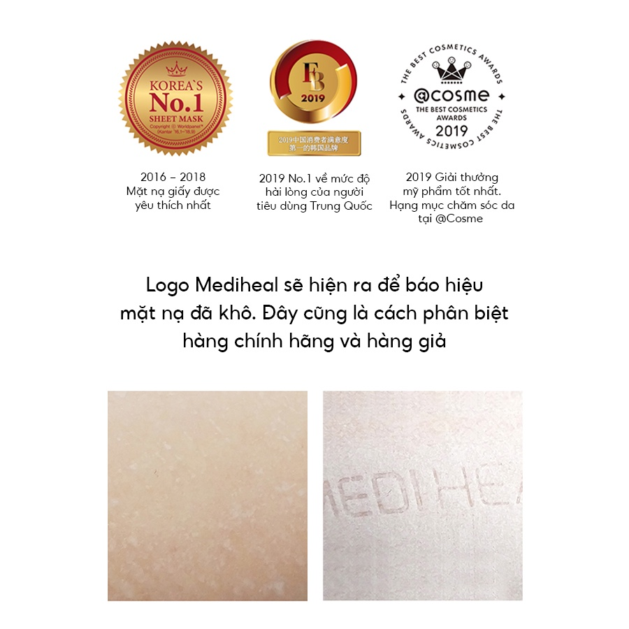 Mặt nạ dưỡng da Mediheal Line Friends 25ml