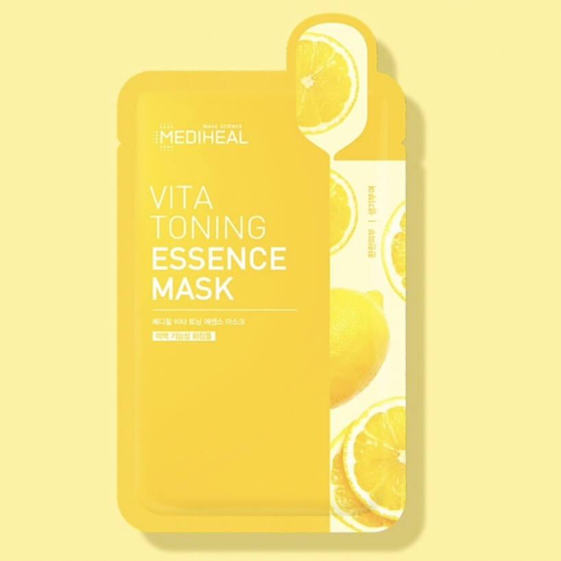 Mặt Nạ Làm Trắng Da Mờ Thâm Nám Mediheal Vita Toning Essence Mask 20ml